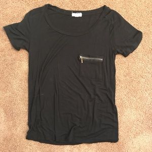Black cute Urban Outfitters top size small